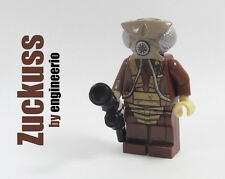 LEGO Custom - Zuckuss Bounty Hunter v2 - Star Wars mini figure 4-lom bossk 75167