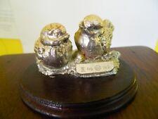 Oggetto coppia uccelli in argento 800 OMA19