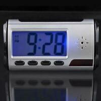 Digital HD Video DVR Spy Alarm Clock Hidden Mini Camera Record Motion Detect DVR