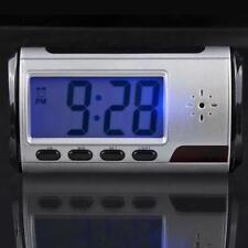 Digital HD Video DVR Spy Alarm Clock Hidden Mini Camera Record Motion Detect DVR