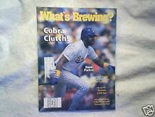 1990 WHAT'S BREWING? Milwaukee Brewers dave parker