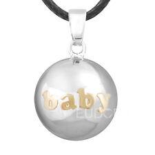 """30 """"L Baby angel boules Harmonie Carillon pendentif de l'appelant grossesse bola collier Bell"""