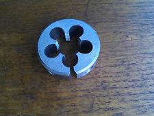 """M14 x 1.0, RH. OD 1 1/2"""" (38mm)  Tungsten steel split Die Button Metric NEW"""
