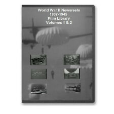 WWII 1937-1945 Newsreels 6+ hrs World War II 4 DVD Set - A73-76
