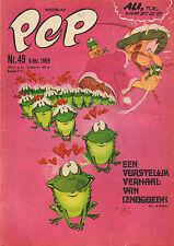 PEP 1969 nr. 49 - IZNOGOEDH (COVER) / CO PRINS / ROB SLOTEMAKER / COMICS
