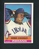 1976 Topps # 98 ROOKIE Dennis Eckersley EX+++ cond Indians