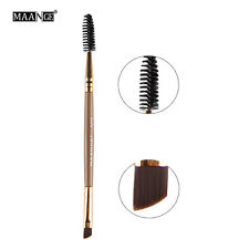 MAANGE 1PCS Double Ends Makeup Tools Eyelash Eye Brush Mascara Cosmetic Eyebrow
