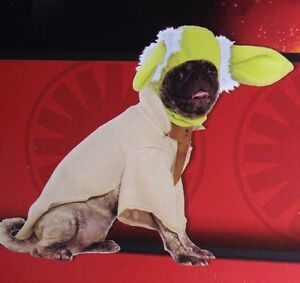 Star Wars YODA Funny Cute Dog Pet Puppy Halloween Costume Outfit S M L XL NEW