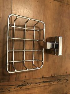Bathroom Soap holder chrome square
