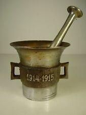 1 WK Andenken Mörser Truppenarzt 1914 - 1915