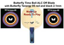 Tischtennisschläger: Butterfly Timo Boll ALC Off Blade + Butterfly Tenergy 05 Gummi