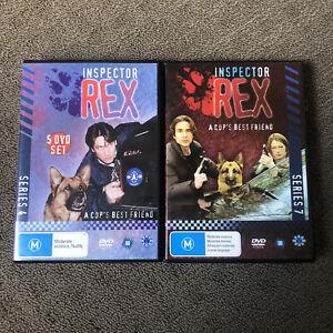 Inspector Rex Lot Series 4 Season 4 and 7 (DVD, 9 Discs)
