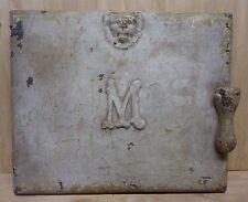 Antique Majestic Co Milk & Package Receiver Door Huntington Ind pat 1916