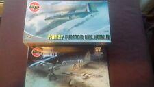 Lote De Trabajo Airfix Fairey Fulmar & Firefly 1/72 Escala