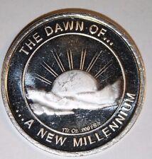 2000 New Millennium 999 Silver 1 OZ