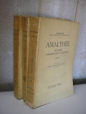 Salomon REINACH : AMALTHEE mélanges d'archéologie et d'histoire 3 tomes 1930-31