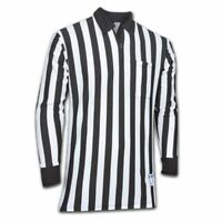 Cliff Keen Adult Mens Official Referee Stretch Sport Jersey Black White Size XXL