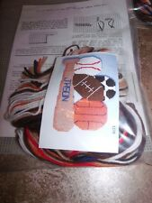 Design Works SPORTS Football Baseball Basketball Wall Hanging Plastic Canvas Kit