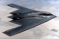 B-2 SPIRIT STEALTH BOMBER 8x12 SILVER HALIDE PHOTO PRINT