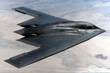 B-2 SPIRIT STEALTH BOMBER 8x12 SILVER HALIDE PHOTO PRINT