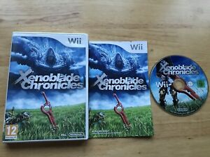 XENOBLADE CHRONICLES NINTENDO WII GAME COMPLETE WITH MANUAL OFFICIAL UK PAL VGC