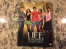 LIFE AS WE KNOW IT THE COMPLETE SERIES LIKE NEW 3 DISC DVD SET KELLY OSBOURNE!