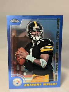 2000 Topps Chrome Anthony Wright Base #44 - Pittsburgh Steelers