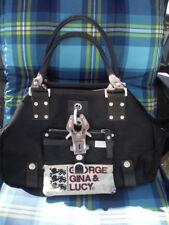 GGL George Gina Lucy Bag Habits Shopper Handtasche Tasche Bag Beutel lila top