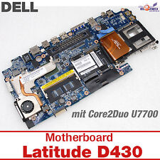 MOTHERBOARD DELL LATITUDE D430 INTEL MIT CPU CORE 2 DUO C2D U7700 CN-0DW915 306