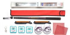Tenkara Style 10ft rod WDC with Furled Tapered leader, Line Winder, Tippet Kit2