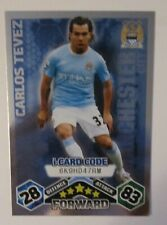 Match Attax 2009/10 i-card Carlos Tevez of Manchester City
