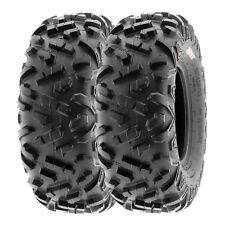 26x11R12 Radial Rear Tire Set for 13-14 Polaris Ranger XP900 RED//OR//BN//BZ 2