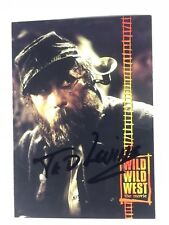 TED LEVINE SIGNED WILD WILD WEST CARD, COA & MYSTERY GIFT'