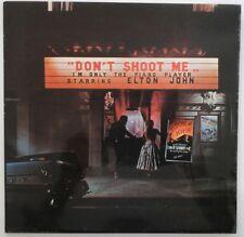 ELTON JOHN - DON'T SHOOT ME I'M ONLY THE PIANO PLAYER djm DJLPH.427 1972 LP UK
