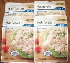 Lot of 4 Nutrisystem Tuna Salad Lunch Meals -- Best Used By April 29, 2022