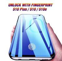 FINGERPRINT UNLOCK Samsung Galaxy S10+ Plus Tempered Glass Screen Protector UV
