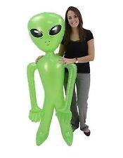 5' Green Inflatable Alien
