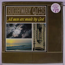 HIGHWAY QC'S: All Men Are Made By God LP Sealed (Mono) Black Gospel