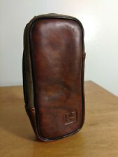 "Vtg Kodak Brown Pouch Case Soft Carry Case Camera Phone Bag 6"" Faux Leather"