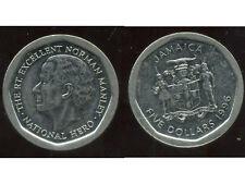 JAMAIQUE  five  5 dollars  1996