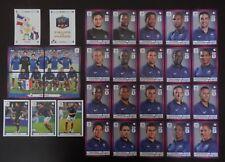 Panini UEFA Euro 2012 Poland/Ukraine Complete Team France + 2 Foil Badges (G)