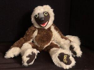 "Zoboomafoo 15"" ZOBO Sloth Lemur Plush Toy Doll Eden 2000"