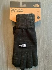 NWT Men's The North Face Etip Salty Dog Gloves Black Size S/M