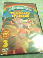 The New Testament bible stories for children,3 DVD collection