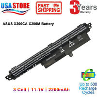 "Battery FOR ASUS Vivobook X200CA X200M X200MA F200CA 11.6"" Series Notebook"