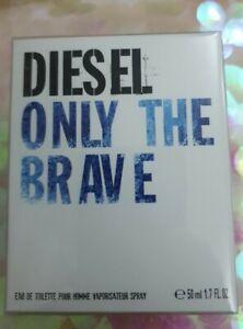Diesel Only The Brave Eau de Toilette 50ml Spray Men's - NEW. EDT - For Him