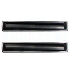 1967 67 Chevelle SS Hood Inserts Louvers Show Quality