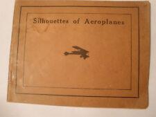 WW 1 Silhouettes of Aeroplanes