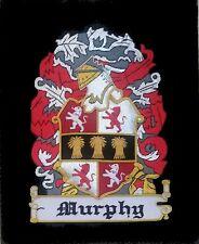 Celtic Irish Murphy Scottish Family Clan Name Birthday Reunion Crest Seal Patch