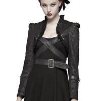 Devil Fashion Witchy Jezebel Kleid Mantel Nugoth Gothic Kapuze Jacket Dress T044